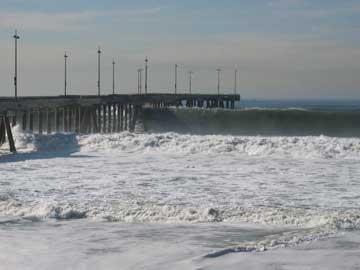 California beach closed
