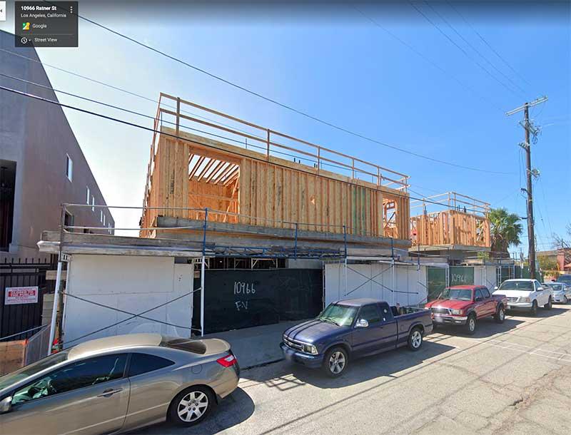 10966 Ratner St. Construction Jose Mier Sun Valley, CA