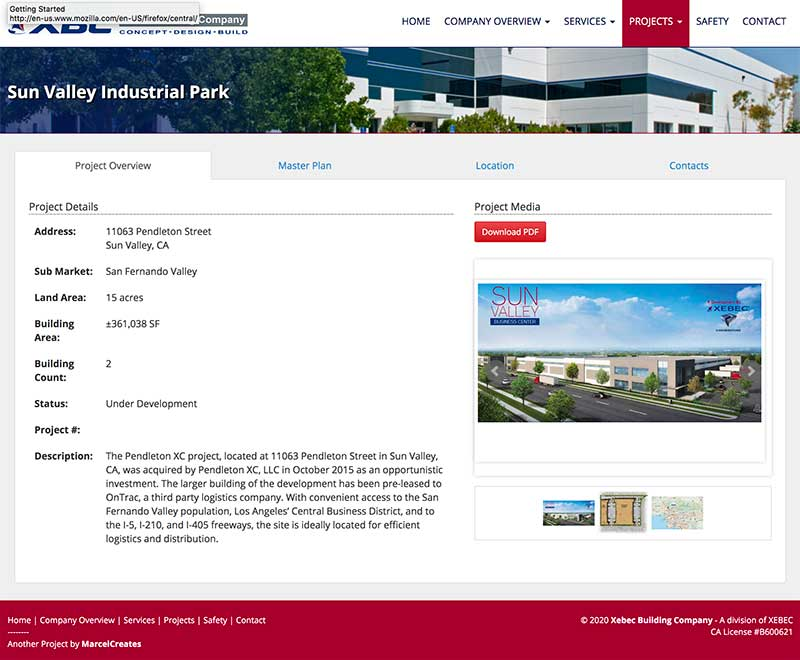 sun valley business park website image