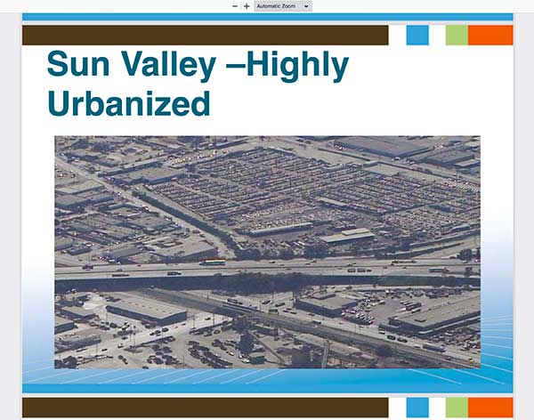 Sun Valley image in Water Management Talk