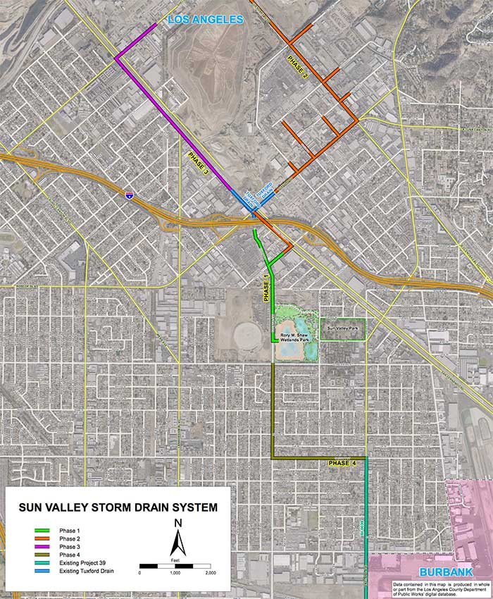 Sun Valley Upper Storm Drain Project